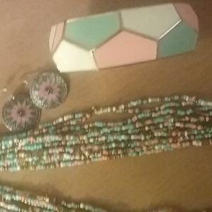 Park Lane necklace,  bracelet,  & earrings set.